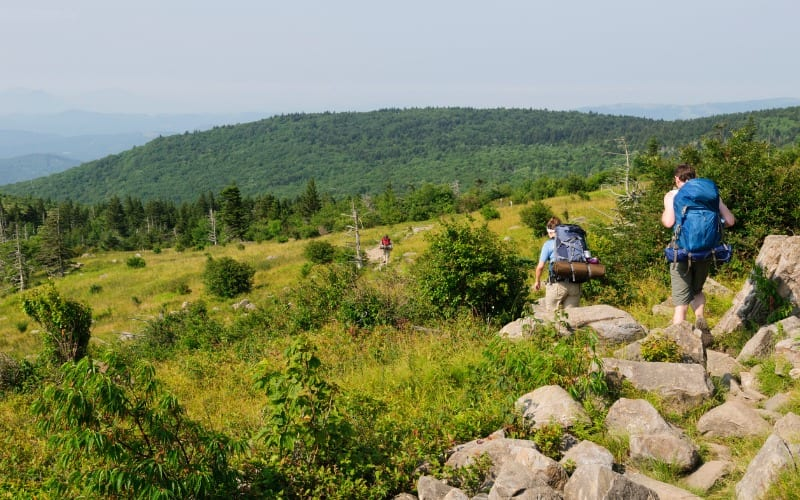 hiking Appalachian trail cost