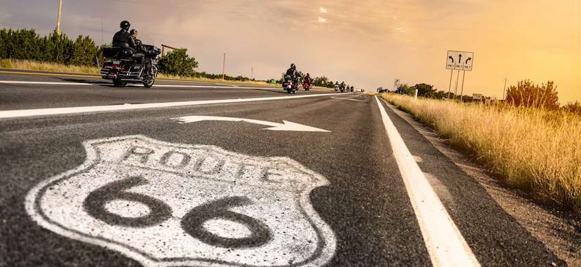 Best Motorcycles to Ride on Route 66